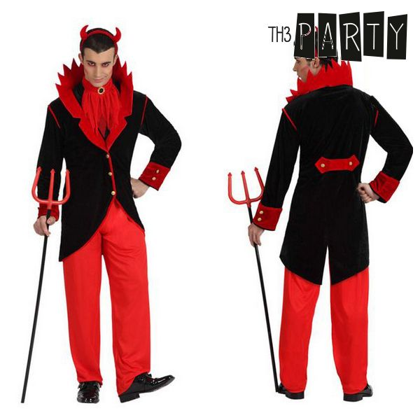 Costume per Adulti Th3 Party Demonio Taglia:XS/S Th3 Party