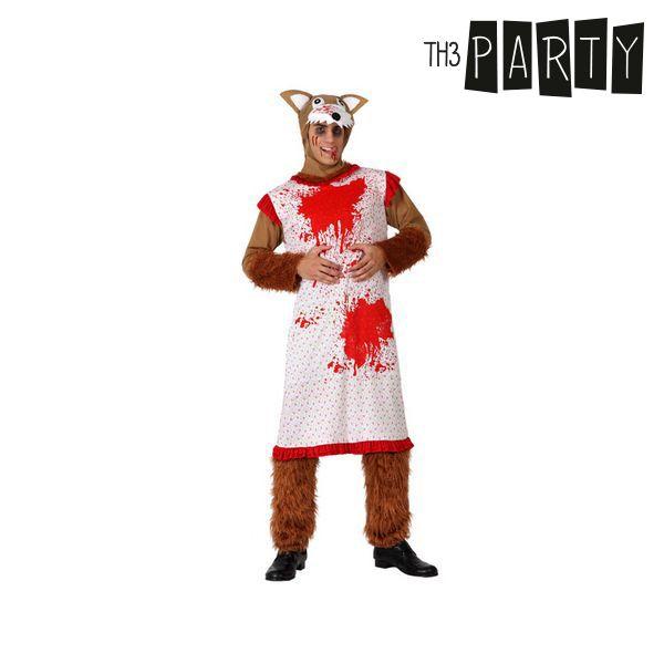 Costume per Adulti Th3 Party Lupo feroce Taglia:XL