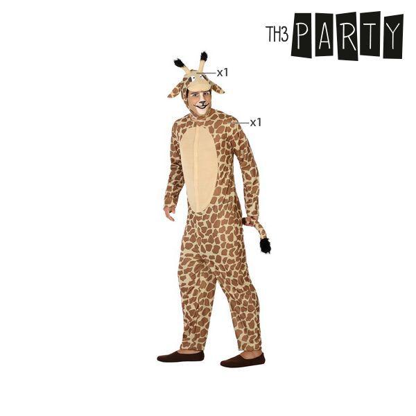 Costume per Adulti Th3 Party Giraffa Taglia:M/L