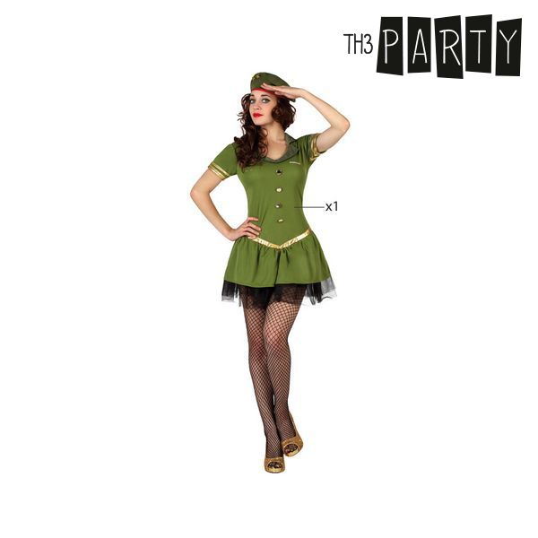 Costume per Adulti Th3 Party Militare sexy Taglia:XL Th3 Party
