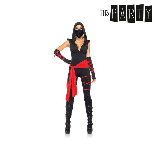 S1102911Costume per Adulti Th3 Party Ninja sexy Taglia:STh3 Party