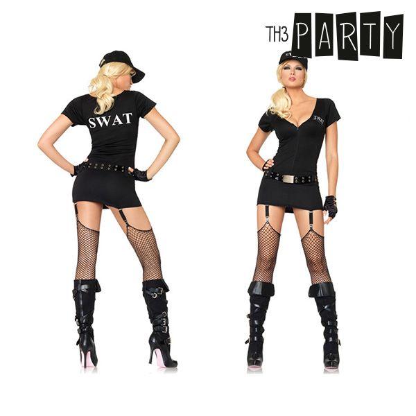 Costume per Adulti Th3 Party Poliziotto swat sexy Taglia:M/L Th3 Party