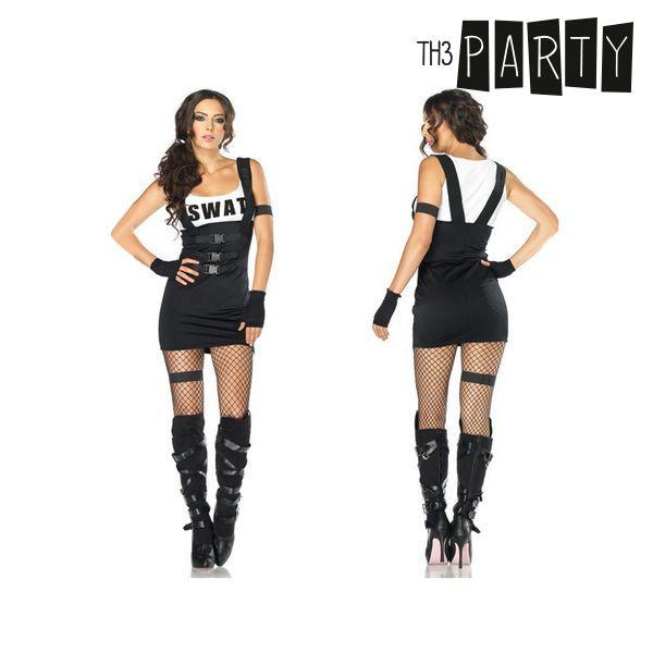 Costume per Adulti Th3 Party Poliziotto sexy Taglia:M/L Th3 Party