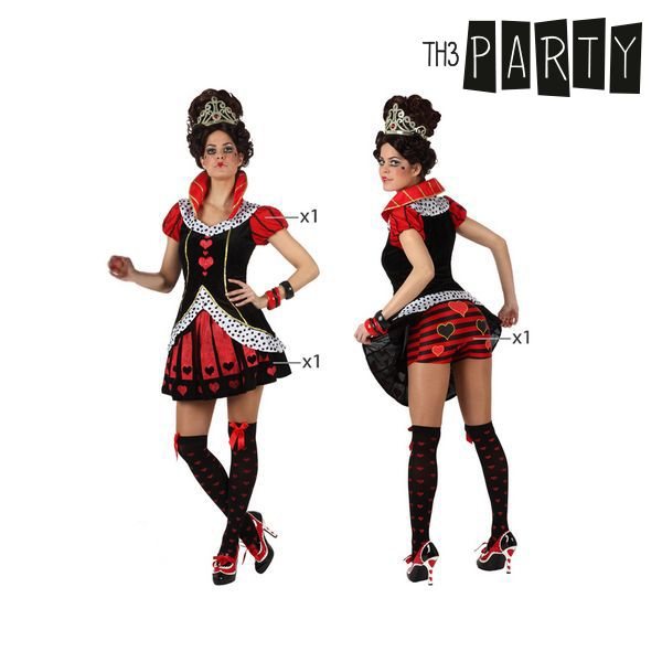 Costume per Adulti Th3 Party Regina di cuori Infermiera sexy Taglia:M/L S110301