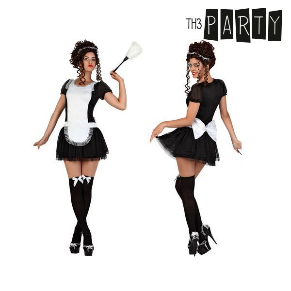 Costume per Adulti Th3 Party Serva Taglia:XS/S Th3 Party