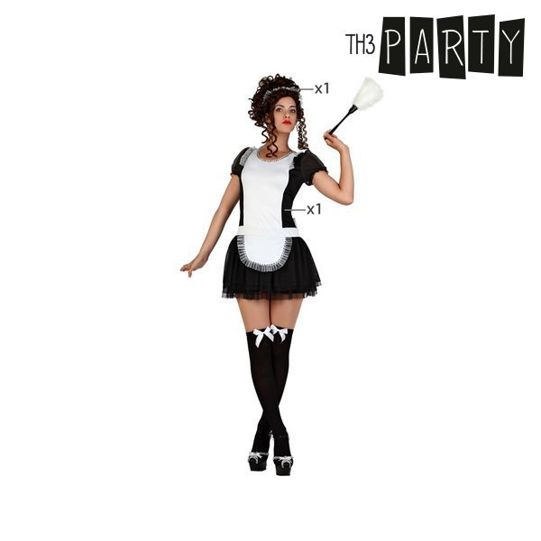 Costume per Adulti Th3 Party Serva Taglia:XS/S S1103260