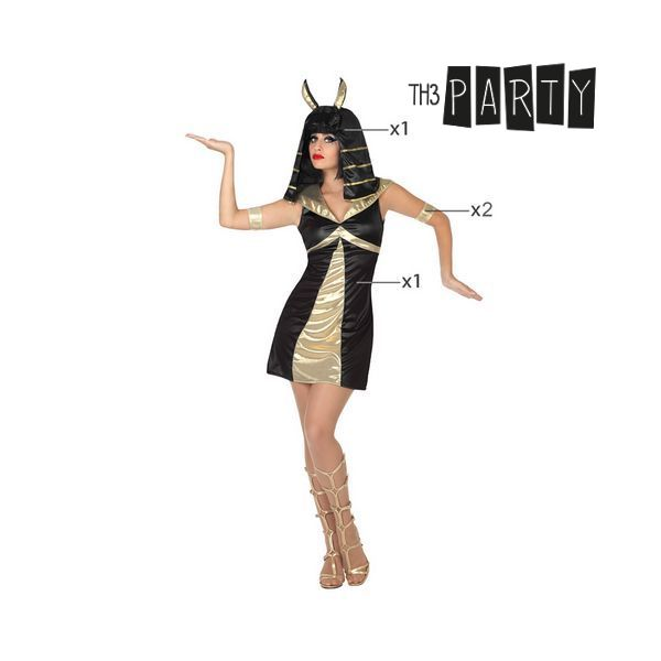 Costume per Adulti Th3 Party Dea egizia Taglia:M/L Th3 Party