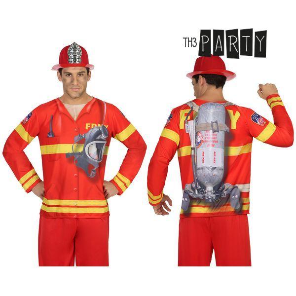 Póló Felnőtteknek Th3 Party 7611 Tűzoltó férfi