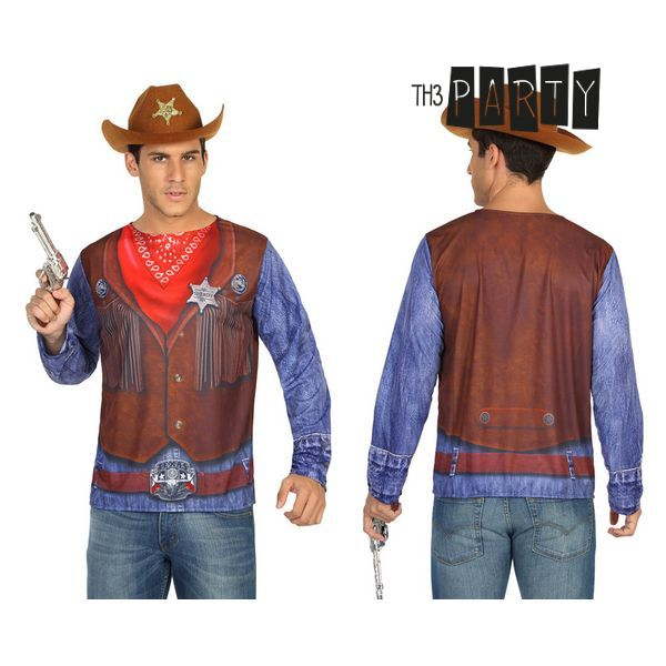 Póló Felnőtteknek Th3 Party 7727 Cowboy