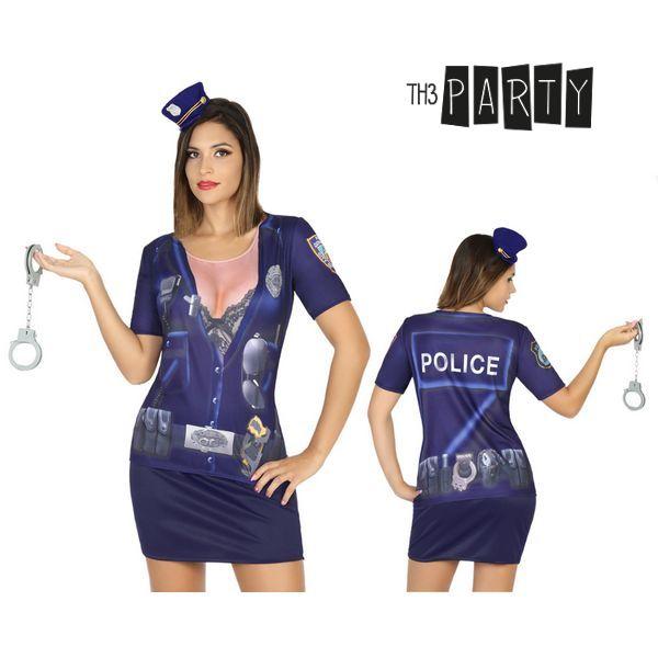Póló Felnőtteknek Th3 Party 8201 Rendőr nő