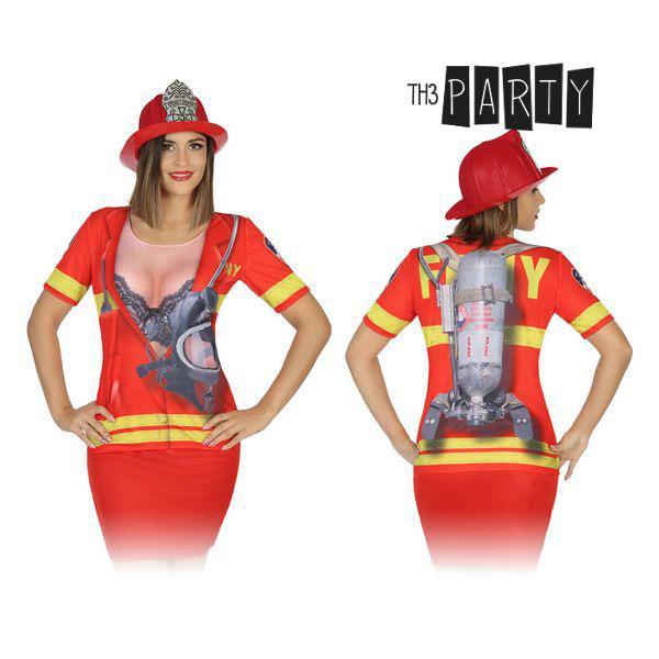 Póló Felnőtteknek Th3 Party 8263 Tűzoltó nő