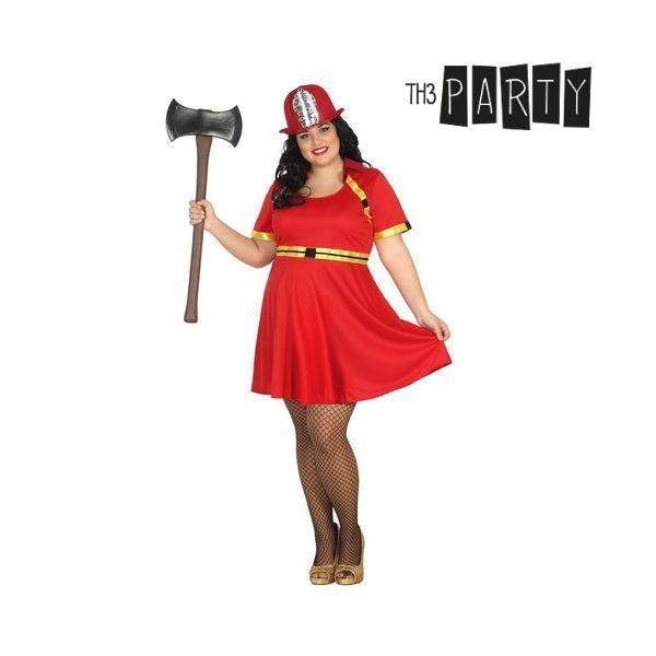 Felnőtt Jelmez Th3 Party 4806 Tűzoltó nő