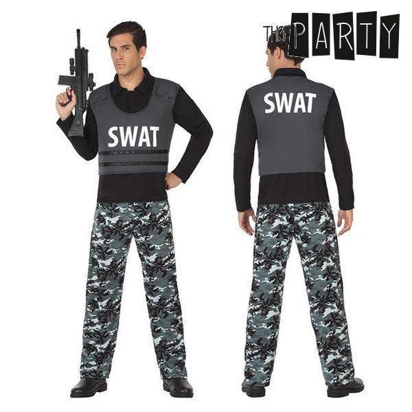 Felnőtt Jelmez Th3 Party Swat rendőr