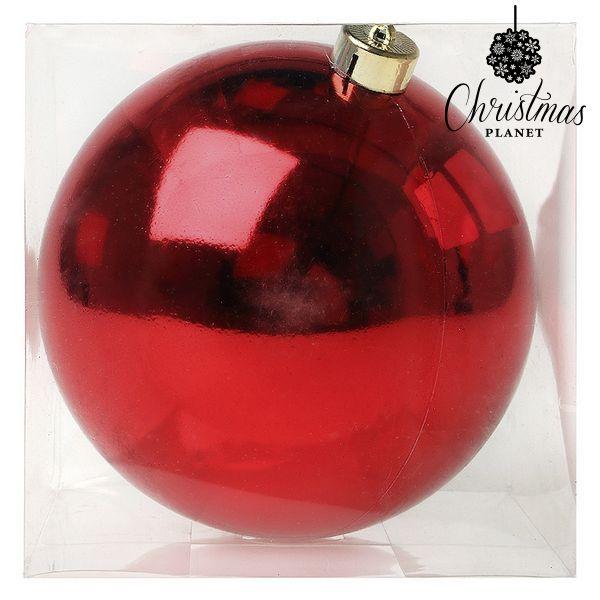 Karácsonyi dísz Christmas Planet 7728 15 cm Piros
