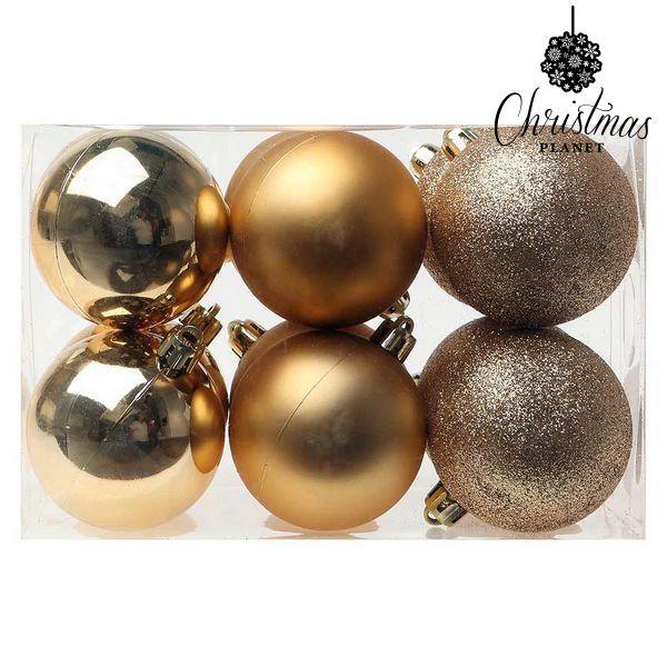 Karácsonyi díszek Christmas Planet 8190 6 cm (12 uds) Dirado