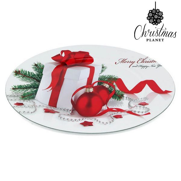 Dekoratív Tál Christmas Planet 1147