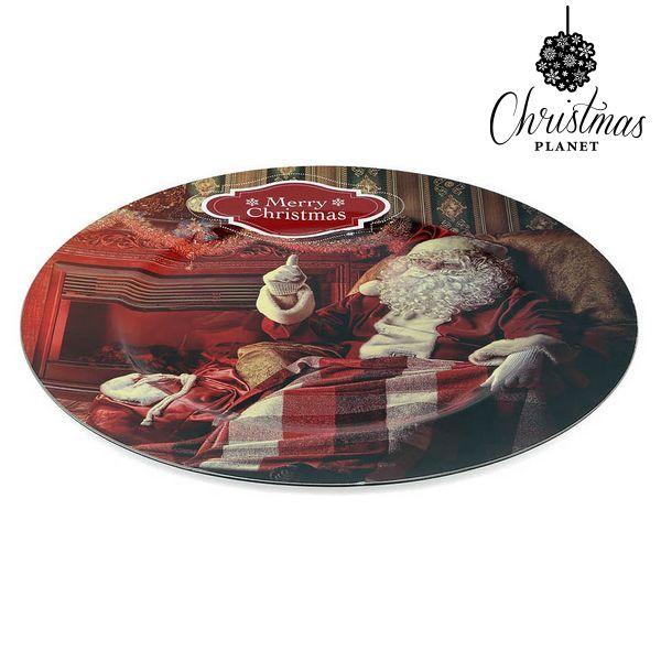 Dekoratív Tál Christmas Planet 1154 Télapó