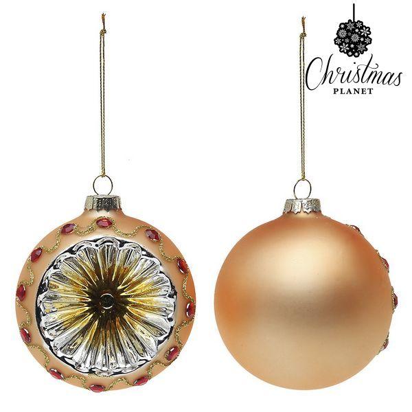 Karácsonyi díszek Christmas Planet 1730 8 cm (2 uds) Kristály Dirado