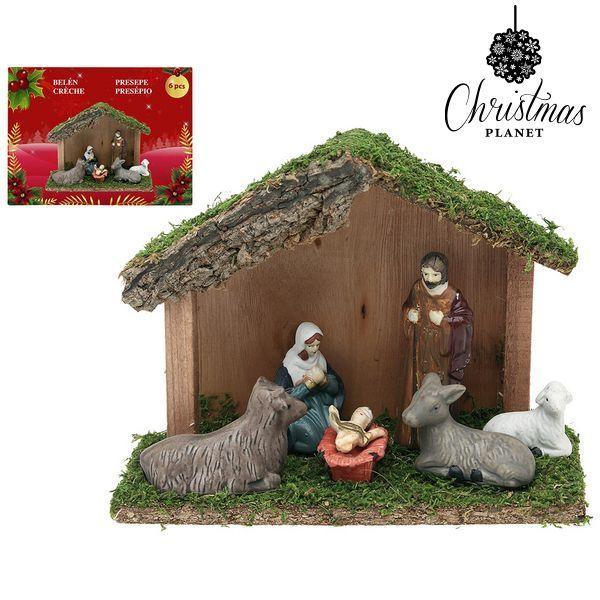 Karácsonyi Betlehem készlet Christmas Planet 4417 (6 pcs)