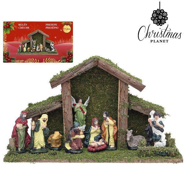 Karácsonyi Betlehem készlet Christmas Planet 4448 (9 pcs)