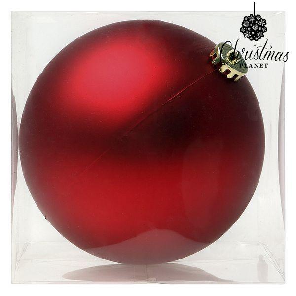 Karácsonyi dísz Christmas Planet 8828 15 cm Kristály Piros