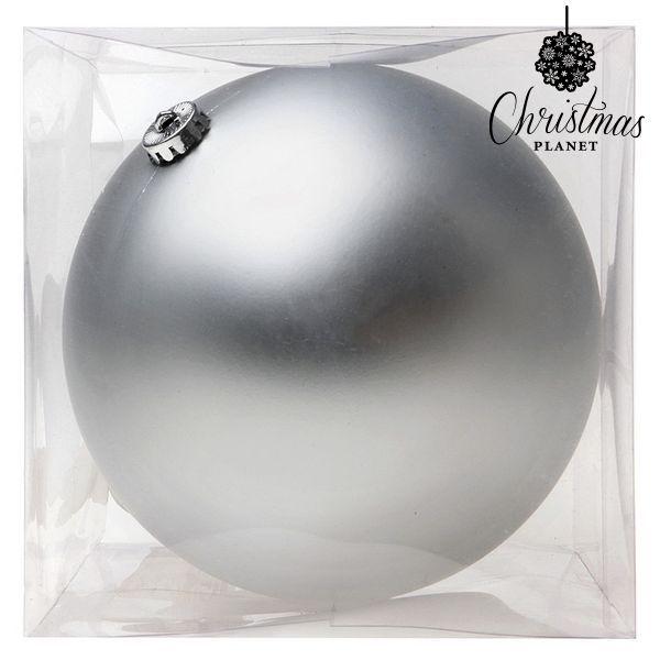Karácsonyi dísz Christmas Planet 8835 15 cm Kristály Ezüst színű