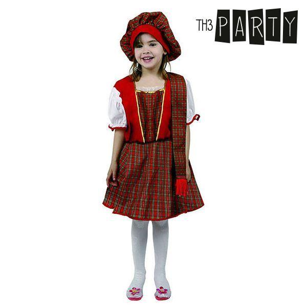 Gyerek Jelmez Th3 Party 8155 Skót nő