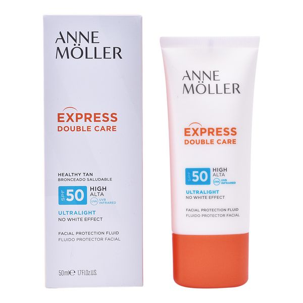 Naptej Express Double Care Anne Möller Spf 50 (50 ml)