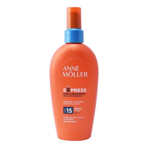 Porjavitveni sprej Express Anne Möller Spf 15 (200 ml)