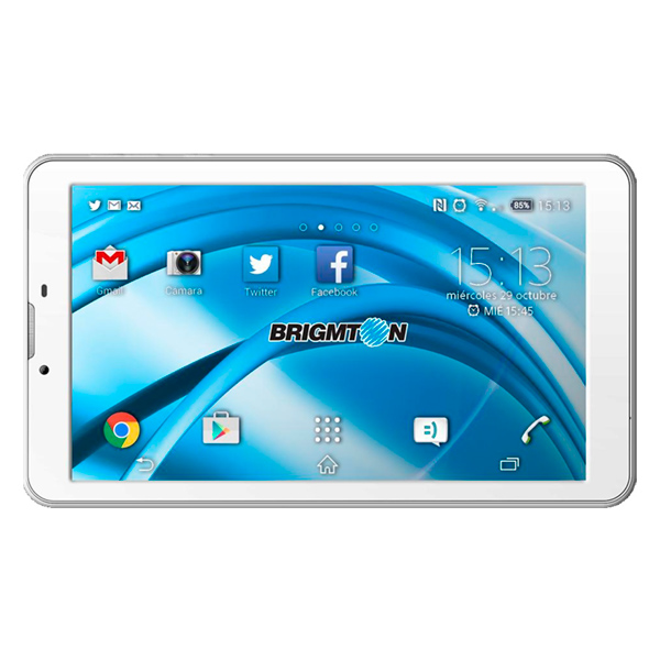 Brigmton BTPC-PH3 8GB 3G White tablet