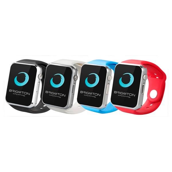Smartwatch BRIGMTON BWATCH-BT4R 1.54 55 g Rosso Silver