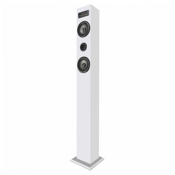 Altoparlante a Colonna Bluetooth BRIGMTON BTW-20-B 20 W USB / SD Bianco 8425081017358  02_S0402568