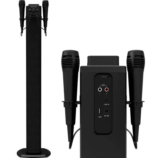 Altoparlante a Colonna Bluetooth BRIGMTON BTW-40K 40W USB Nero 8425081017365  02_S0403009