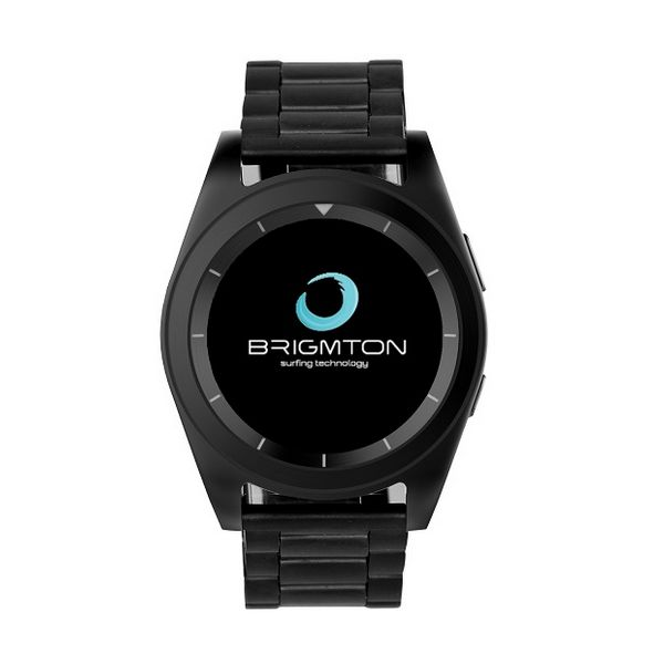 Reloj-Pulsómetro BRIGMTON BWATCH-BT6N 1.2'' HD 64 MB RAM 128 MB ROM Micro USB 250 mAh Negro (3)