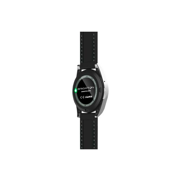 Reloj-Pulsómetro BRIGMTON BWATCH-BT6N 1.2'' HD 64 MB RAM 128 MB ROM Micro USB 250 mAh Negro (2)