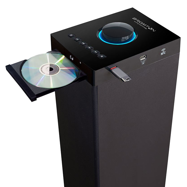 Torre-de-Sonido-Bluetooth-BRIGMTON-BTW-80-NFC-CD-ROM-USB-Radio-FM-80W-Negro