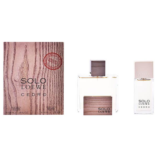 Férfi Parfüm Szett Solo Loewe Cedro Loewe (2 pcs)