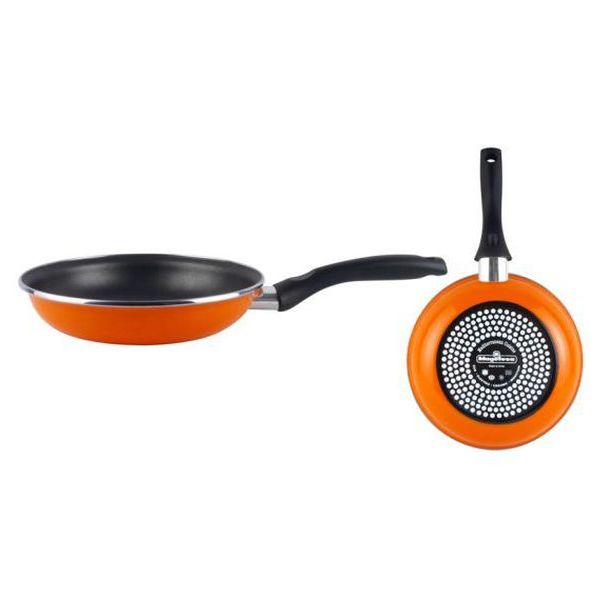 Serpenyő Magefesa Valencia Ø 30 cm Fekete Narancszín