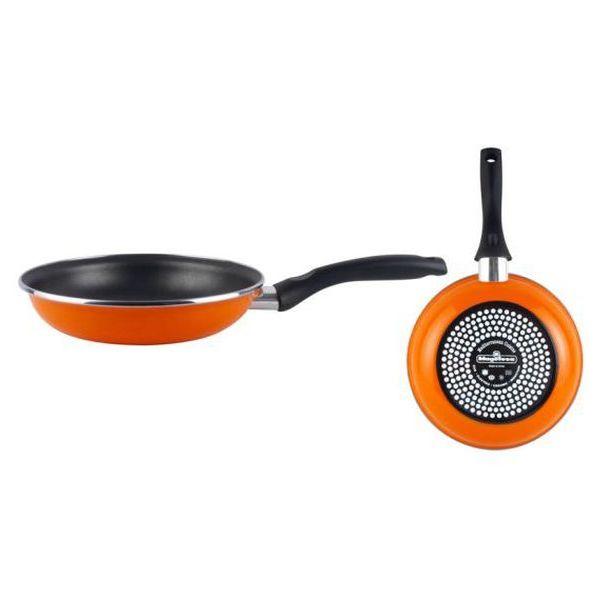 Serpenyő Magefesa Valencia Ø 26 cm Fekete Narancszín