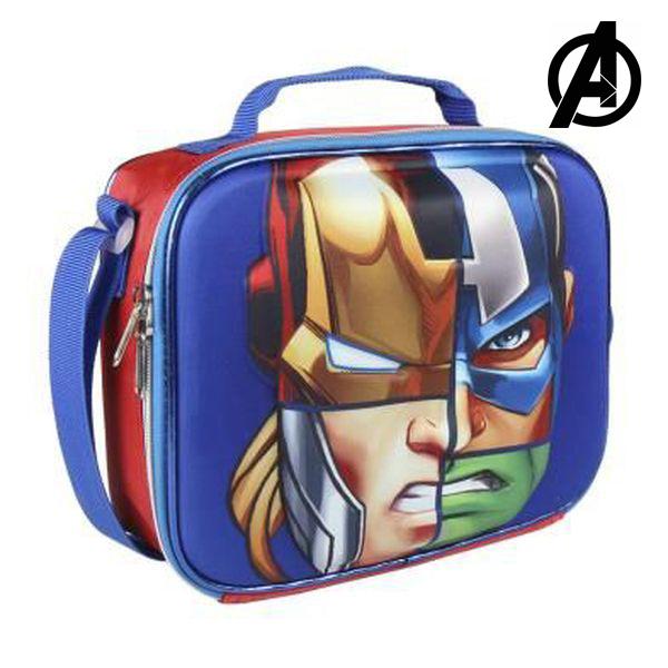 3D Hőtartó Uzsonnástáska The Avengers 8348
