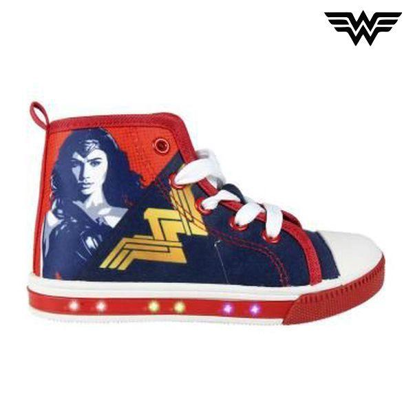 Lezser cipő LED világítással Wonder Woman 4943 (33 méret)