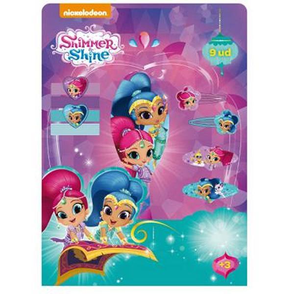 Dodatki za Lase Shimmer and Shine (9 pcs)
