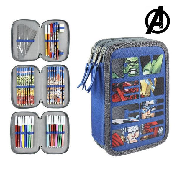 Tripla Tolltartó The Avengers 8177 Kék