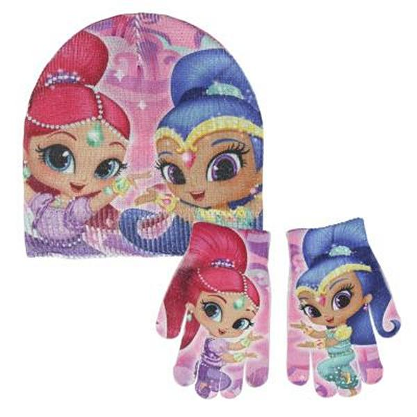 Gorro y Guantes Shimmer and Shine 270