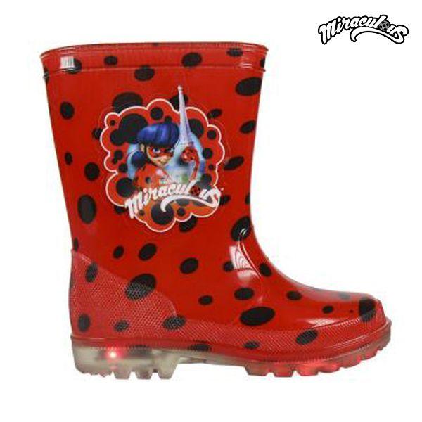 Stivali Bug da pioggia per Bambini con LED Lady Bug Stivali 8173 (taglia 27) I0010_S0705118 b0271c