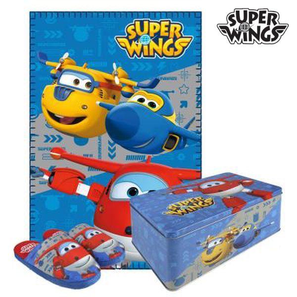 Fém Doboz tartozékokkal Super Wings 9675 3 pcs (30-31 méret)