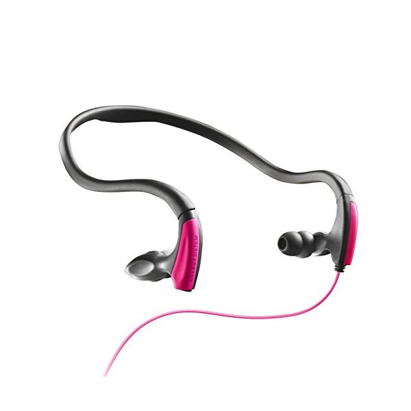 auriculares deportivos con micrófono Energy Sistem MAUAMI0259 397204 Rosa Alámbrico