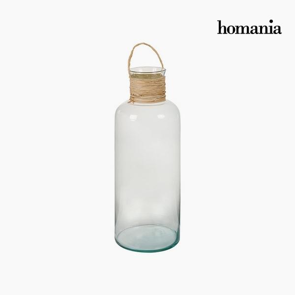 Újrahasznosított Üveg Váza Újrahasznosított üveg Átlátszó (19 x 19 x 48 cm) by Homania