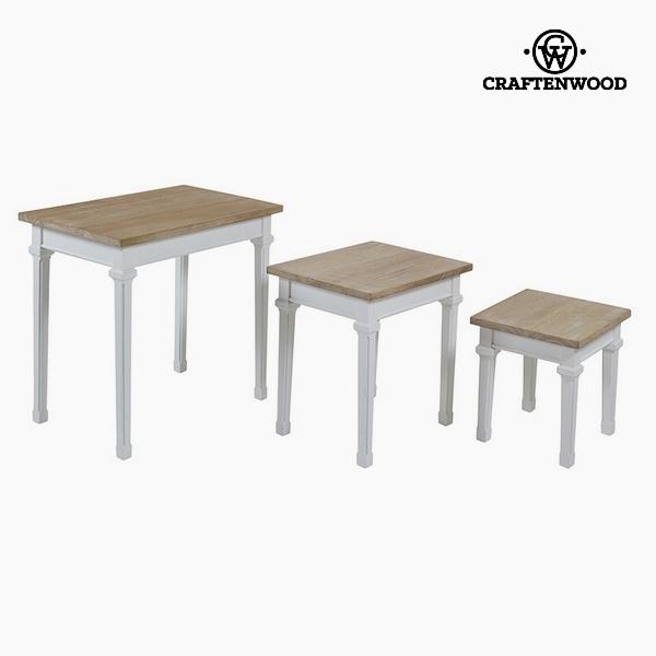 Szett 3 asztallal Császárfa Dm by Craftenwood