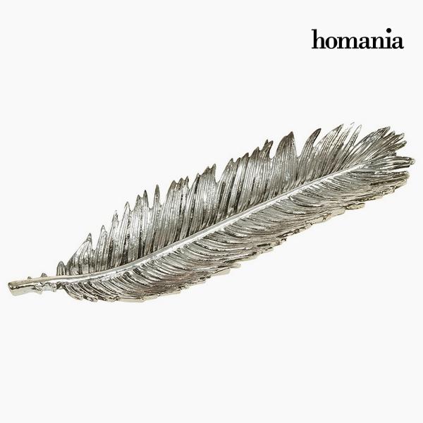 Asztaldísz Gyanta Ezüst színű (48 x 15 x 5 cm) by Homania